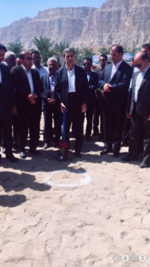 عمليات اجرايي ساخت دو مخزن ذخيره آب در شهرستان جم آغاز شد